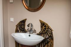 Steampunk Badezimmer